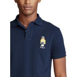 Poloshirt mit Bärchen-Stickerei von Polo Ralph Lauren in Marine für Herren Ralph LaurenRalph Lauren