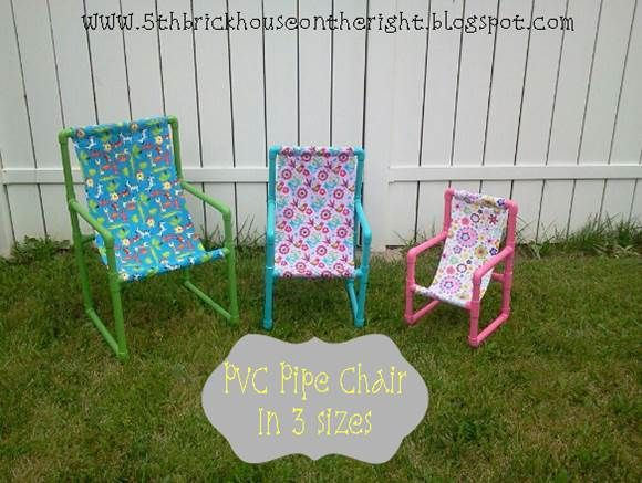 How to DIY PVC Pipe Toddler Chairs | Pvc pipe, Pipes and ...