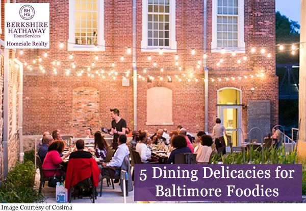 5 Dining Delicacies For Baltimore Foodies With Images Baltimore Foodie Fresh Seafood