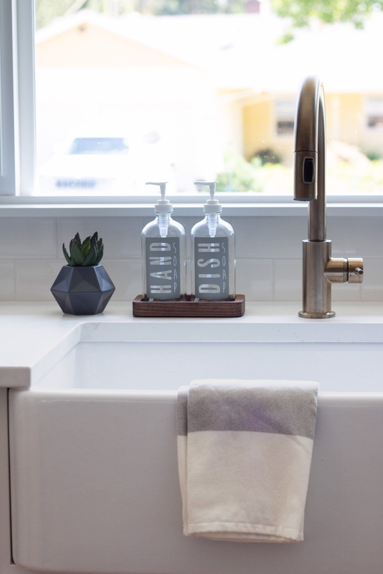 Bathroom Soap Dispenser, Bathroom Soap Dispenser Set With Tray