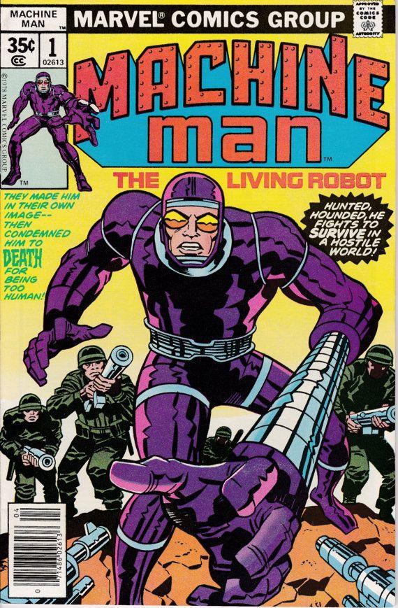 Machine Man #1 April 1978 Marvel Comics Grade VF/NM #comicbooks
