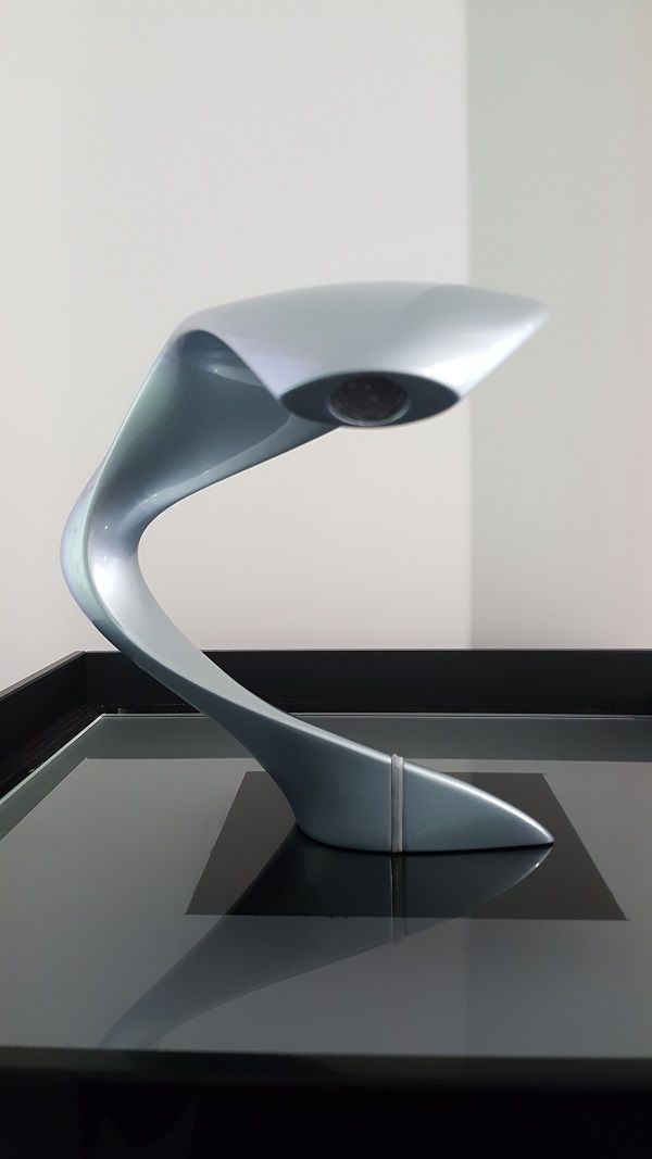 """Gi Room Design: New """"WATER SCULPTURE"""" By GI DESIGN. Steel Grey Painted"""