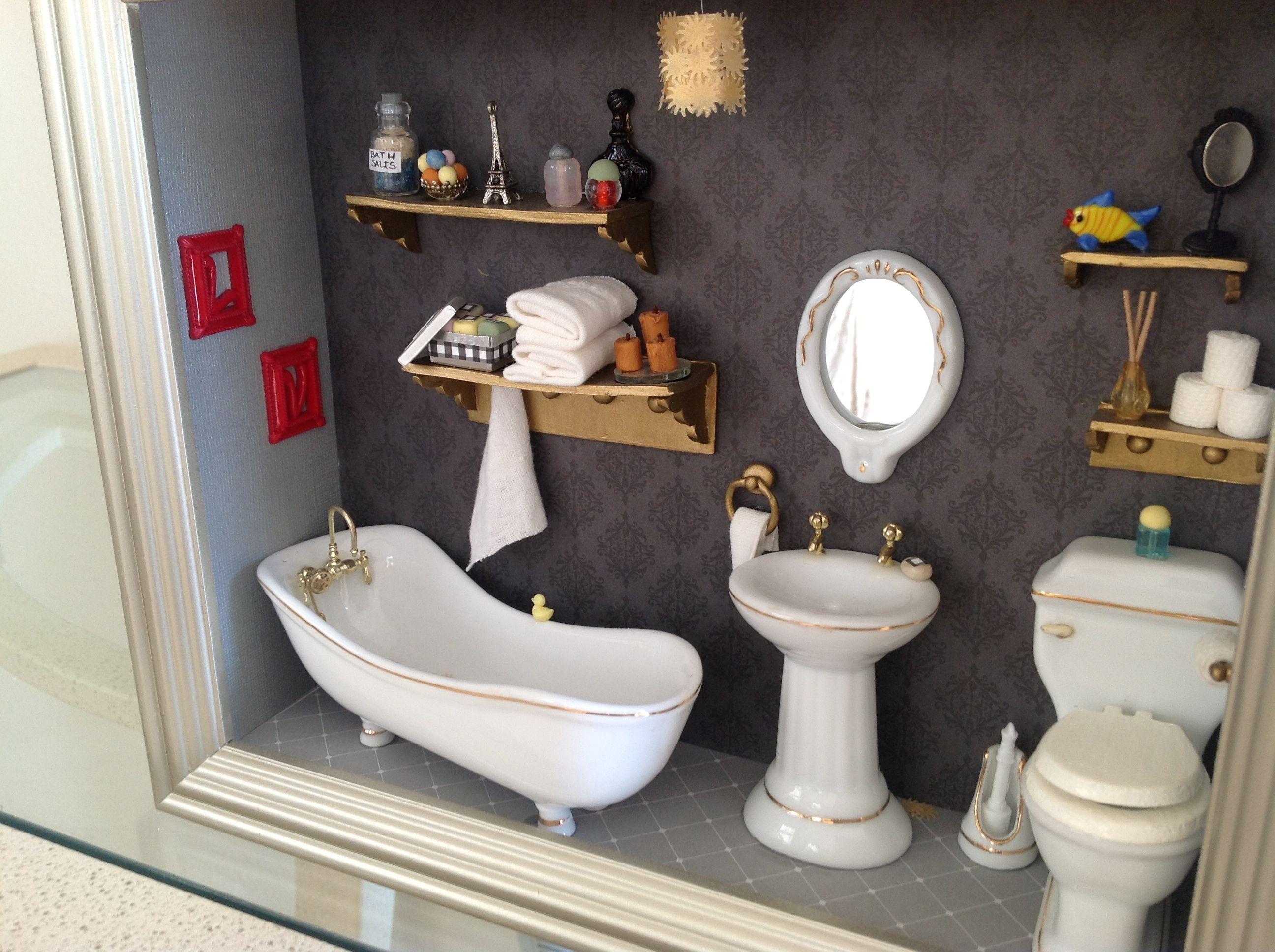 Shic Bathroom!! Shadow BoxWall ...
