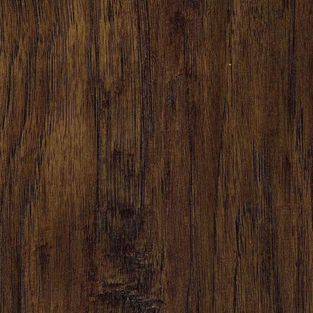 Trafficmaster Hand Scraped Saratoga Hickory 7 Mm Thick X 7 2 3 In