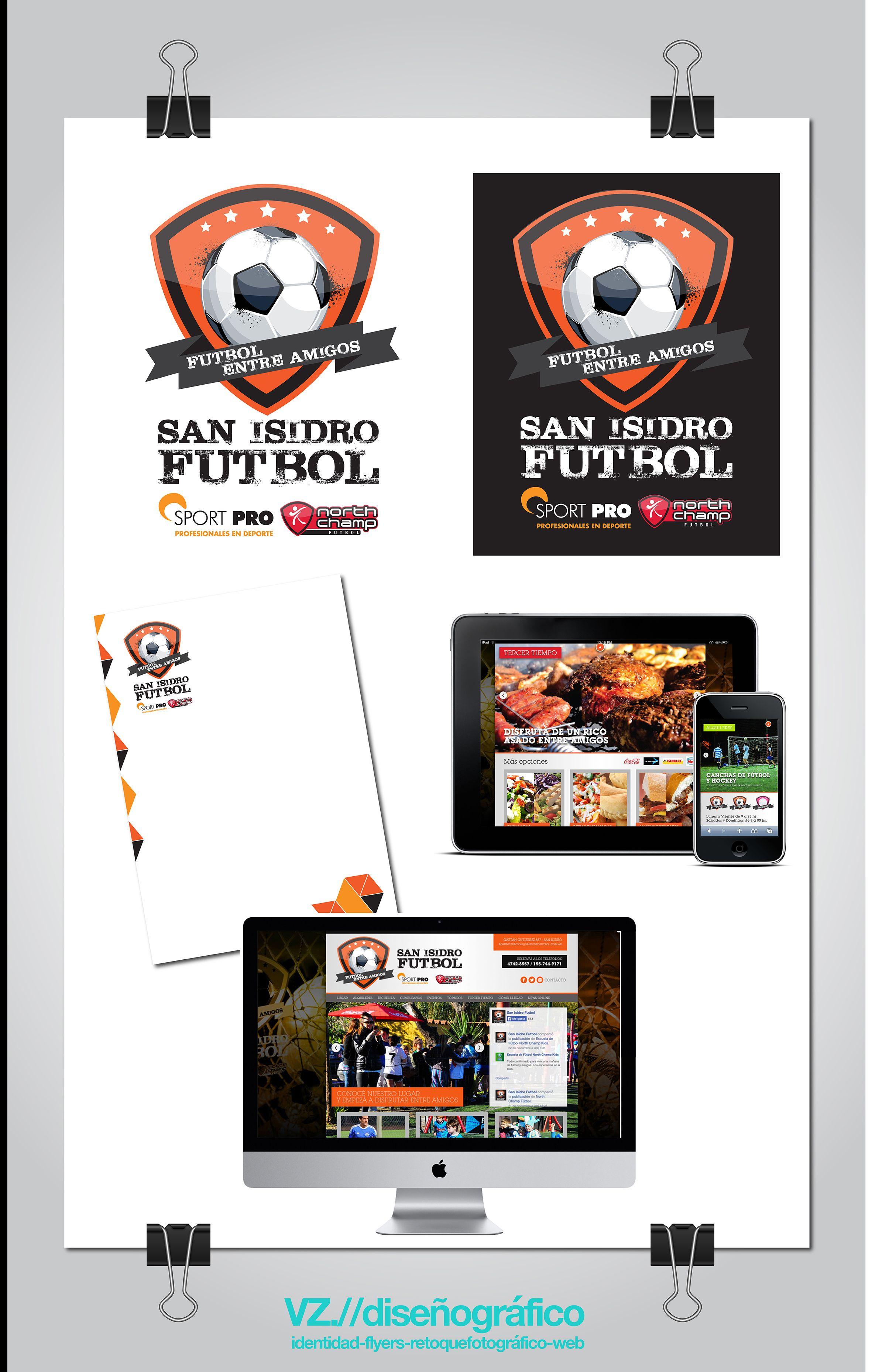 Branding completo para San Isidro Futbol
