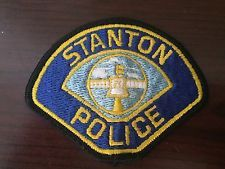 Defunct Stanton Police Patch California Police Patches Police