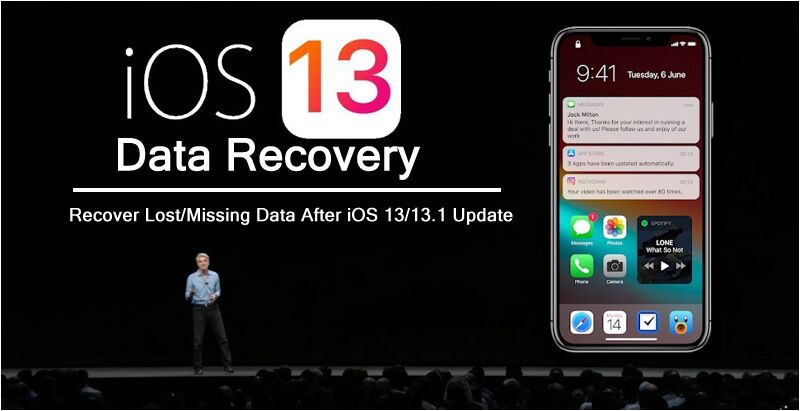 Ios 13 Data Recovery Recover Lost Data After Ios 13 13 1 Update