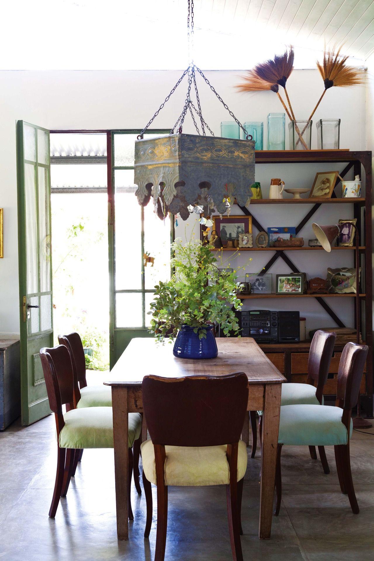 Una Casa Con La Belleza De Lo Heredado Comedores R Sticos  # Muebles Hojalata