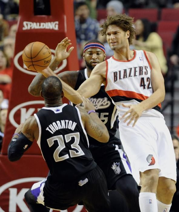 Portland Trail Blazers Kings: Sacramento Kings' Marcus Thornton (23) And DeMarcus