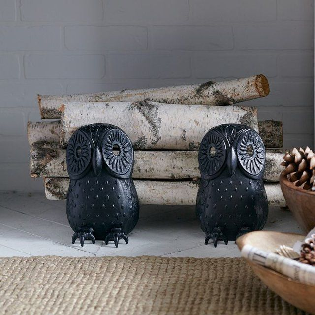 Owl Inspired Living Room Decoration Tips 2 Owl Inspired Living Room Decoration Tips 2 Fireplace Andirons Fireplace Accessories Decor