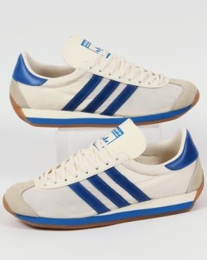 size 40 246c5 aad36 Adidas Trainers Adidas Country OG Trainers Chalk White Bluebird