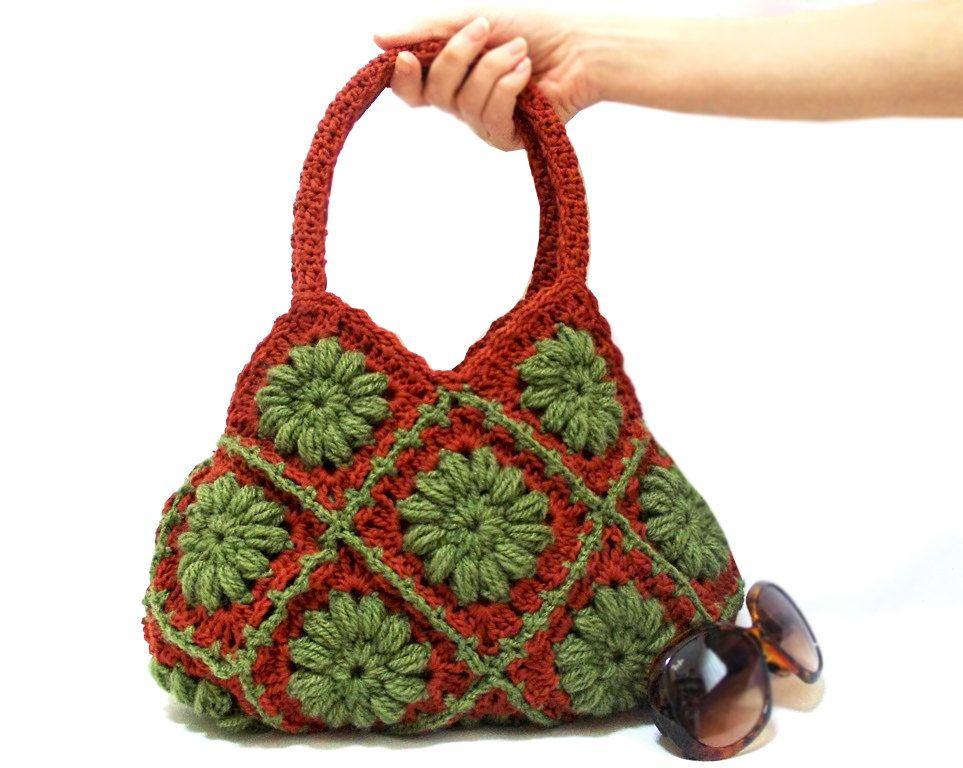 6da9fcca4 Crochet bag Handmade Crochet hand bag Shoulder bag by aynikki, $80.00