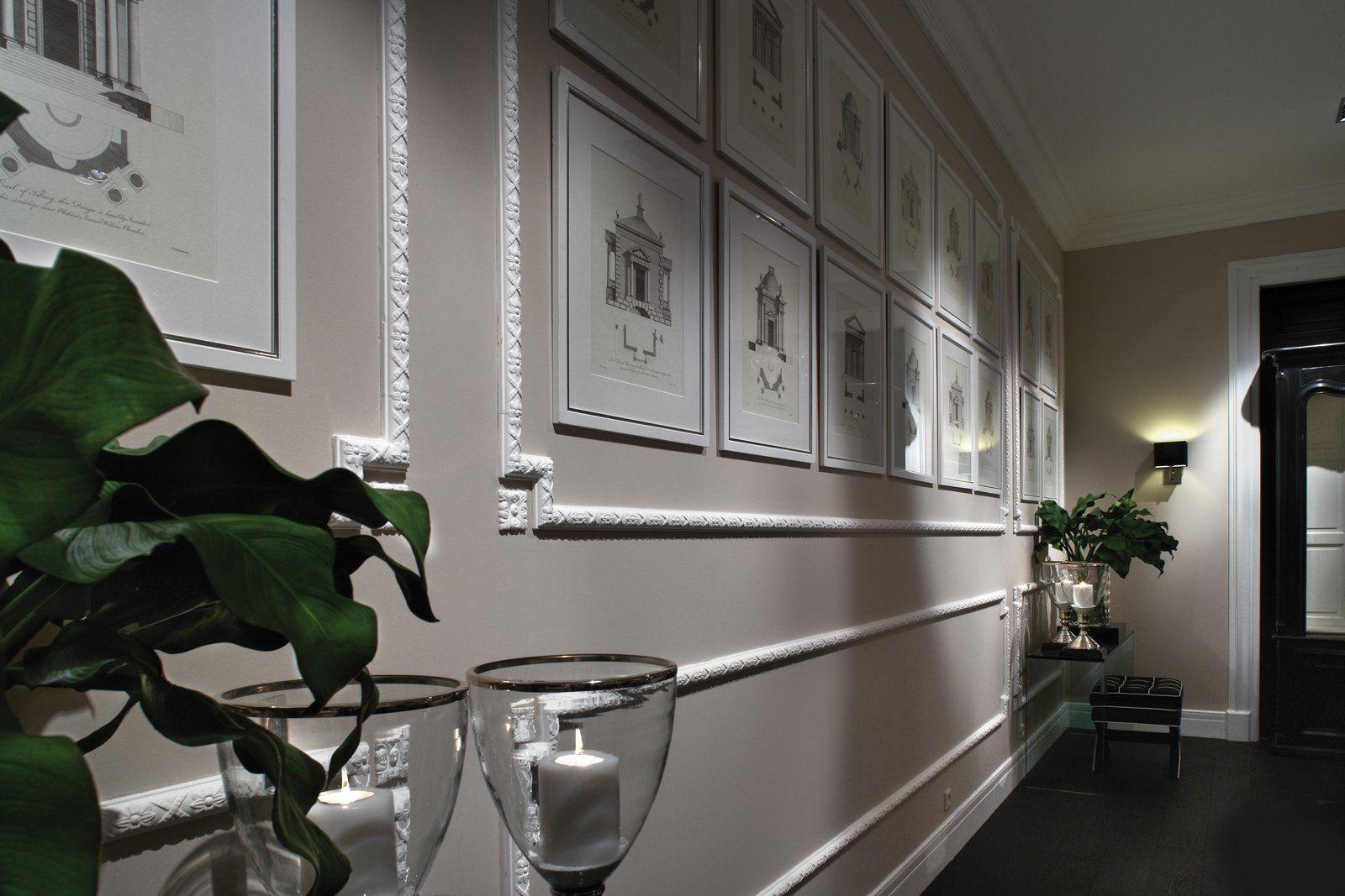 Rinnovare Pareti Di Casa cornici effetto gesso per rinnovare la parete | pareti