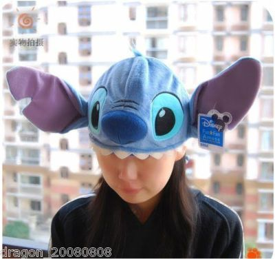 Kids//Adults LILO Stitch Costume Cosplay Party Halloween Hat Cap