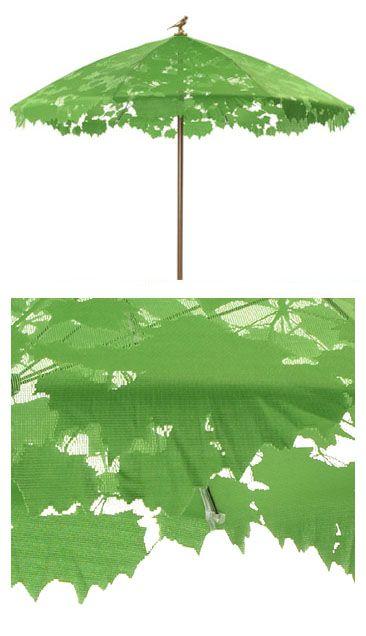 Chris Kabel: Modern Shadylace Parasol Sun Shade Patio Umbrella   Droog Design, Netherlands. $450.00