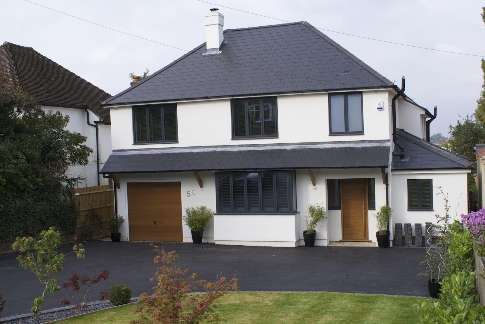 Dark Grey Aluminium Windows And Sliding Doors Dwl Aluminium Windows Front Doors With Windows Roof Cladding