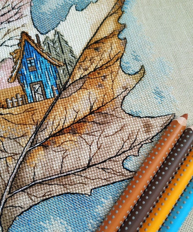 Counted Cross Stitch Patterns My Bathroom Chart Needlework DIY