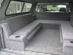 Truck Bed Sleeping Platform Might Make Something Similar For Kelseys After She Gets Her Camper Topper