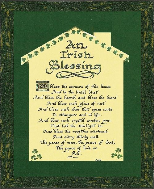 Delightful Prayer+for+a+New+House | An Irish Blessing For Home,