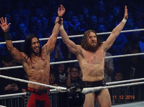 Daniel Bryan Mustafa Ali Wrestling Superstars Daniel Bryan Wwe Daniel Bryan