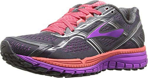 49597ec07b9 Special Offers - Brooks Womens Ghost 8 Anthracite Purple Cactus  Flower Dubarry Athletic Shoe