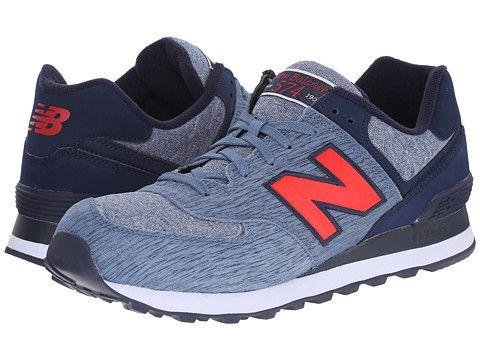 detailed look 184c7 10f8a New Balance Classics 574 - Sweatshirt Red/Blue - Zappos.com ...