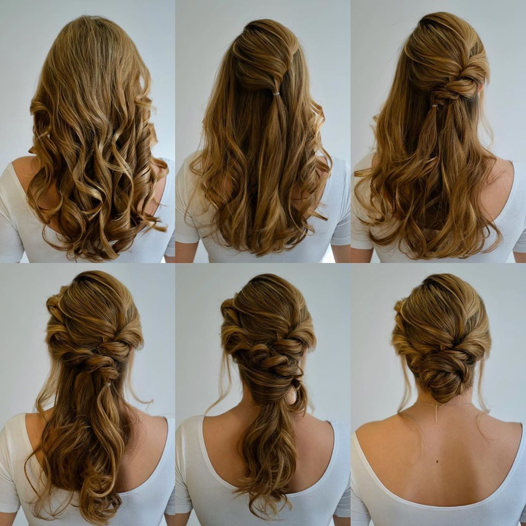 Step By Step Bridal Hair Updo Photo Pictorial Hair Updos Tutorials Hair Styles Bridesmaid Hair Tutorial