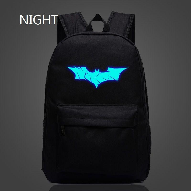 Hot Sale Batman Backpack Super Hero Spiderman Bags For Boys Girls School  Backpacks Kids Best Gift School Bag Children Backpack fc8ceecf084d9