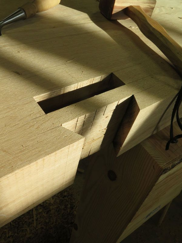 How To Make Deep Mortises When You Aren T A Timber Framer Popular Woodworking Magazine Woodworking Magazine Dove Tail Joints Woodworking