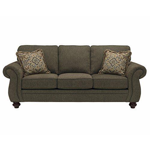 Broyhill Cassandra Brown Upholstered Sofa