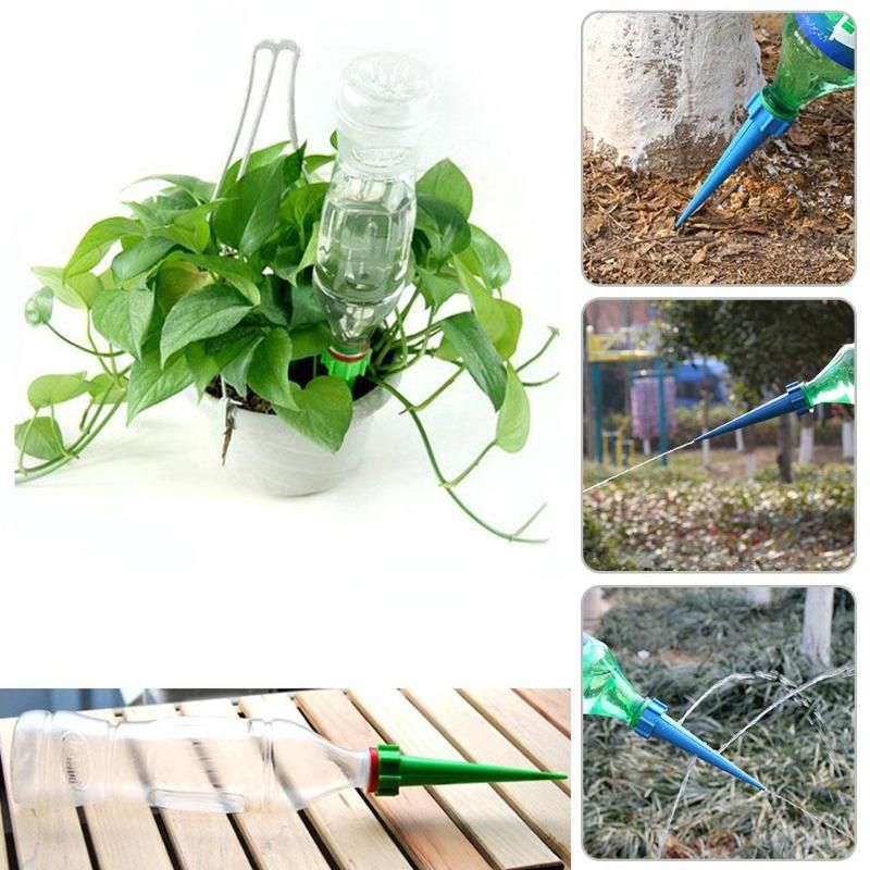 Household Auto Drip Irrigation For Flowers Trees Watering System Waterer