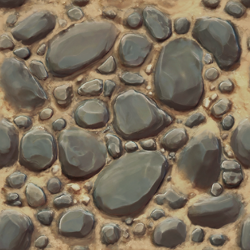 Been wanting to try my hand at painting textures.