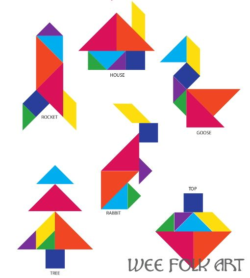 How To Make Your Own Tangram Puzzle