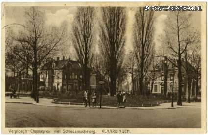 Vlaardingen, Verploegh-Chasseplein met Schiedamscheweg