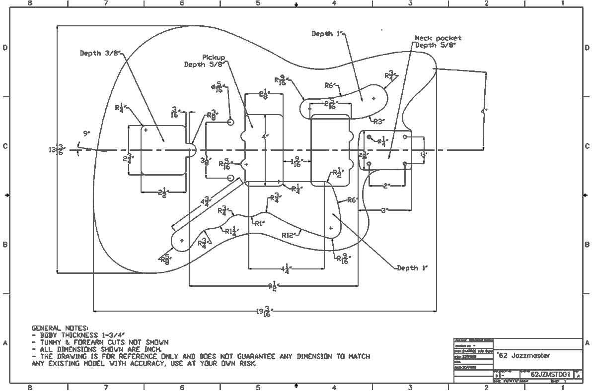 Wiring Diagram For Fender Jaguar Guitar  U2013 Avimar Info