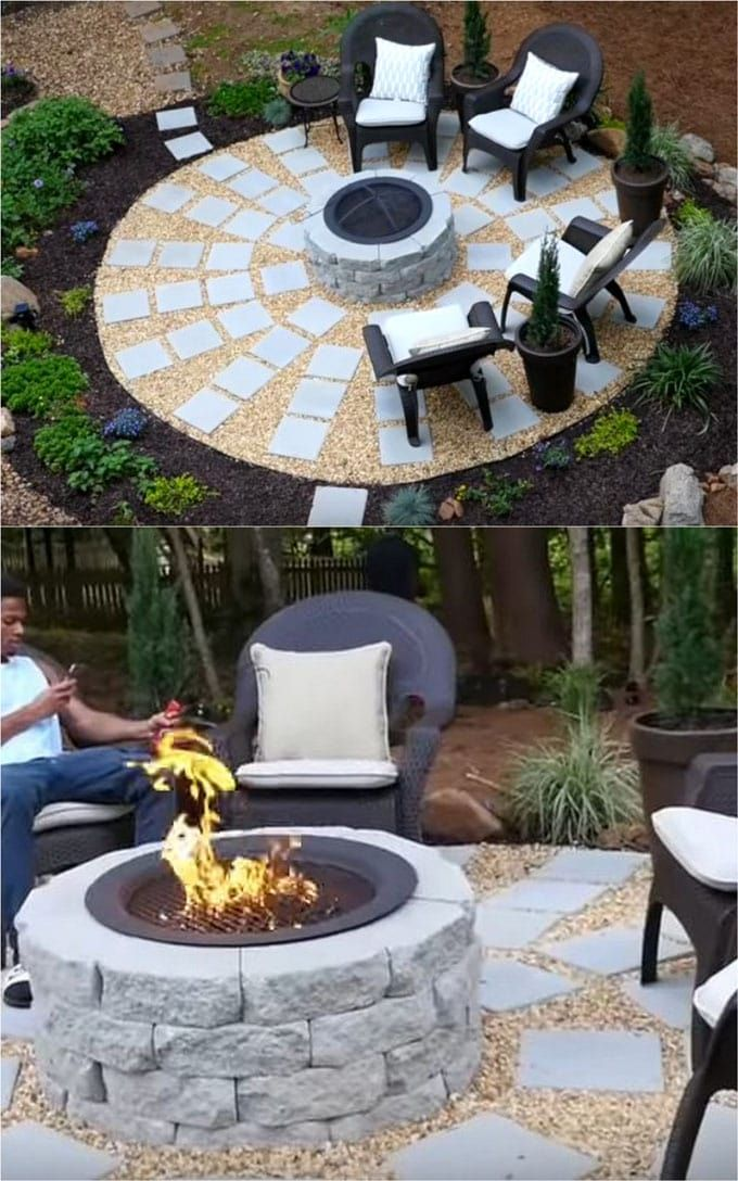 24 Best Outdoor Fire Pit Ideas Including: How To Build Wood Burning Fire  Pits And