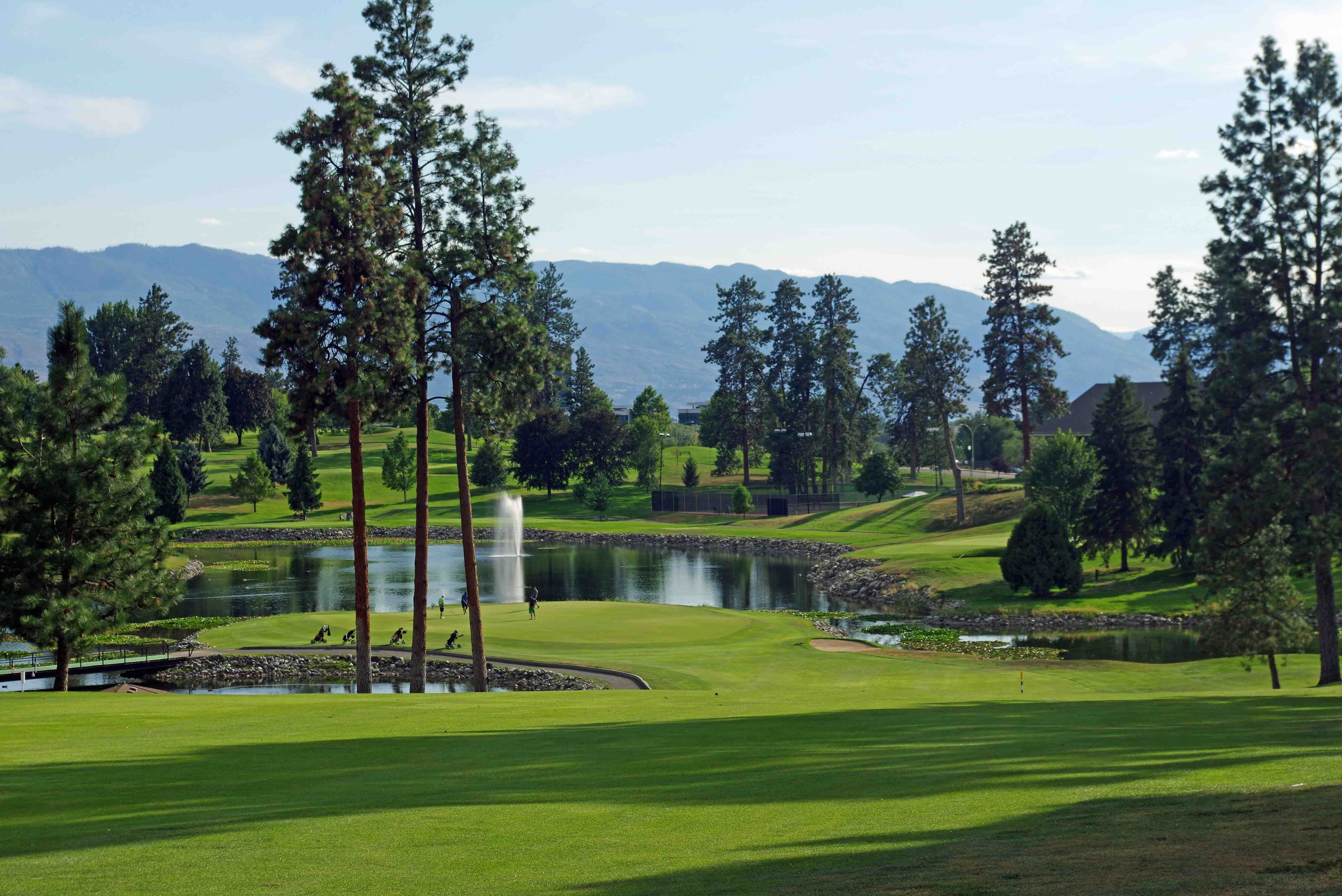 Kelowna Golf & Country Club in downtown Kelowna BC. This