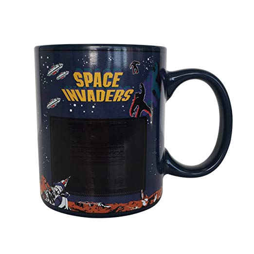 Space Invaders Heat Changing Ceramic Coffee