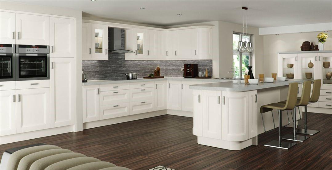 Lsecond Nature White Kitchen Door