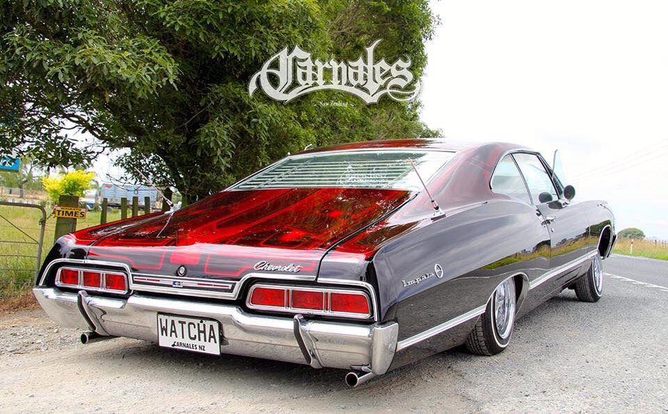 Carnales New Zealand 67impala Lowrider Impala Chevy Candy Lowriders Impala Chevy