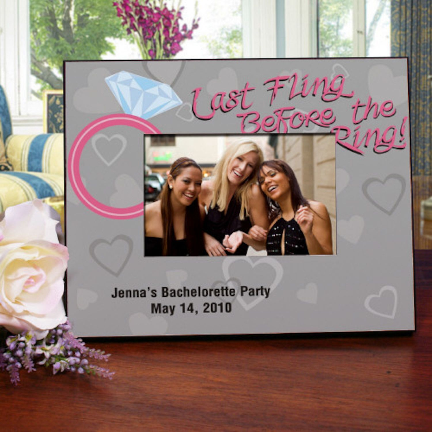 Personalized Last Fling Printed Picture Frame | Products | Pinterest ...