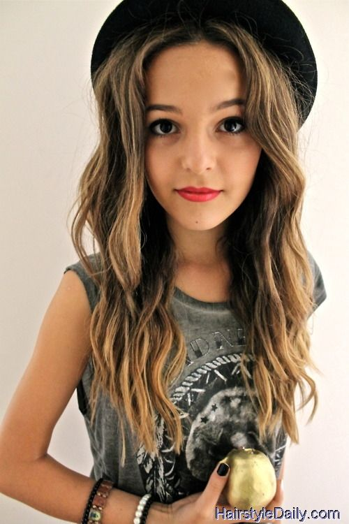 Marvelous 1000 Images About Tween Girls Hairstyles On Pinterest Thick Hairstyle Inspiration Daily Dogsangcom