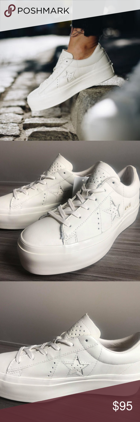 Converse One Star Platform OX SHOES SIZE 7.5 Women Women s Size 7.5 COLOR   WHITE  afa99bfe4