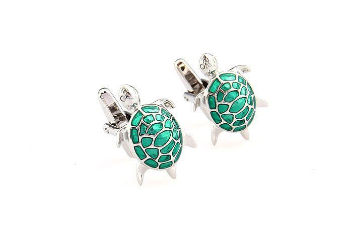 Green Sea Turtle Cufflinks