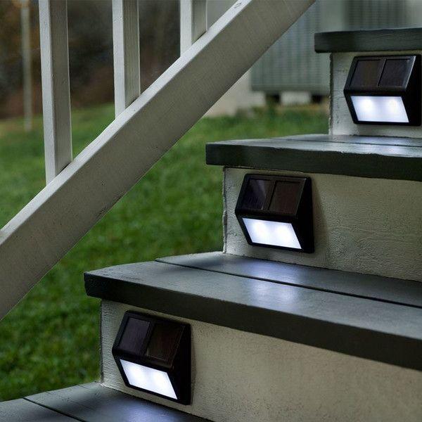Solar deck step lightingdeck