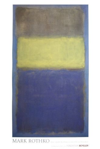 No. 2/No. 30 (Yellow Center)  by Mark Rothko