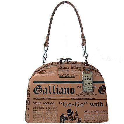 """John Galliano women's handbags """"CLASSIC GAZETTE"""""""