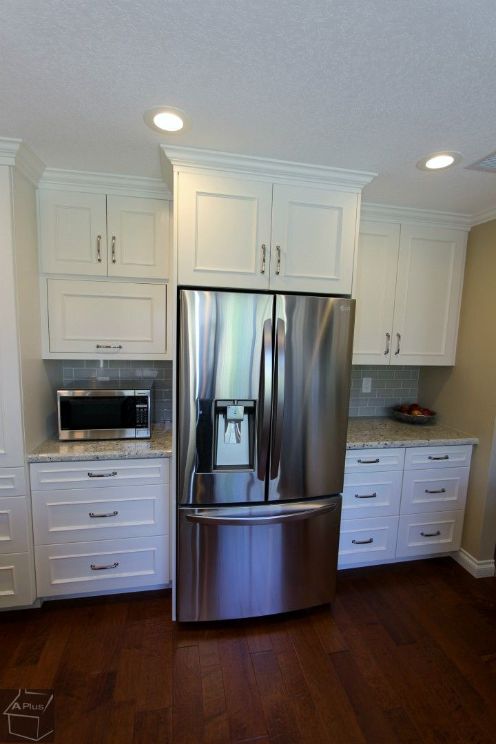 Beautiful Cabinet With Steel Freez Kitchen Bathroom Remodel Kitchen Design Kitchen Remodel