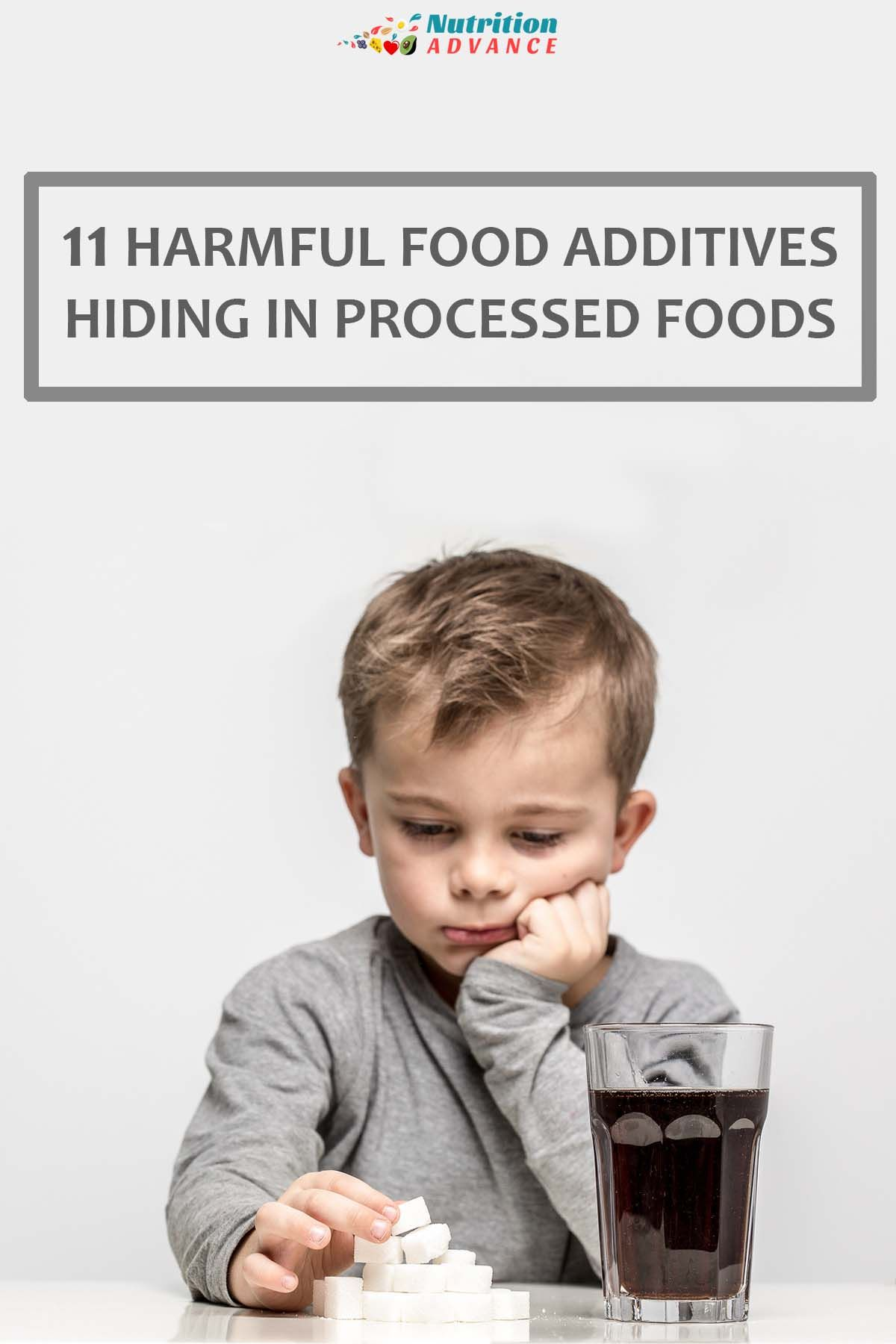 11 Harmful additives hiding in processed foods. Some of these have strong links to cancer, diabetes and heart disease; learn which to avoid. via @nutradvance