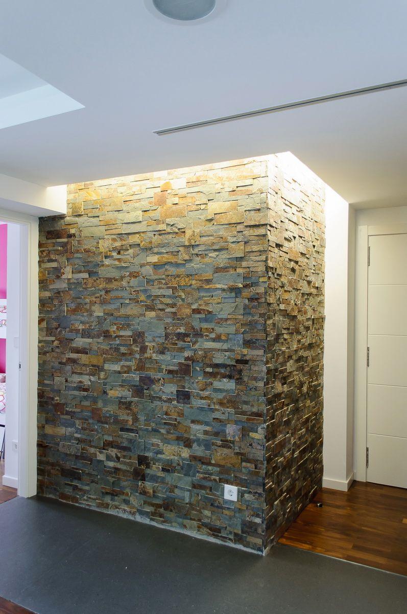 Detalle revestimiento de piedra detallesarquitectura - Casa de revestimientos ...